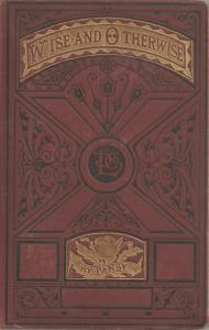 Original cover for Wise and Otherwise by Isabella Alden