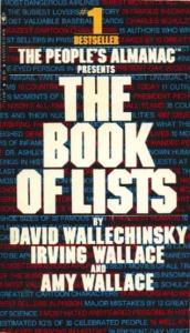 Cover The Book of Lists
