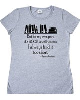 Tee Shirt Jane Austen Quote